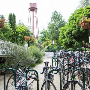 Edgefield Bike Racks
