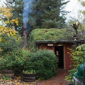 LIttle Red Shed at Edgefield