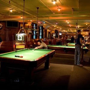 Lucky Staehly's Pool Hall at Edgefield